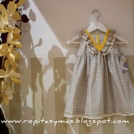 Divinity vestido vichy collar de Kauli, verano 2014