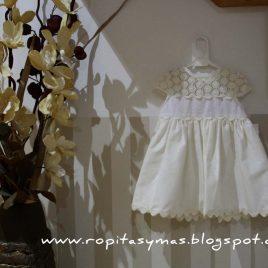 Vestido Marfil de Para Sofia