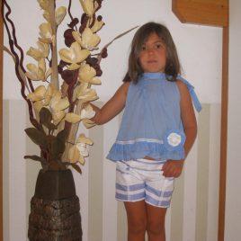 Navit bluson azulon de Kauli, verano 2014