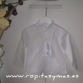 Camisa canguro blanca de Ancar, verano 2015