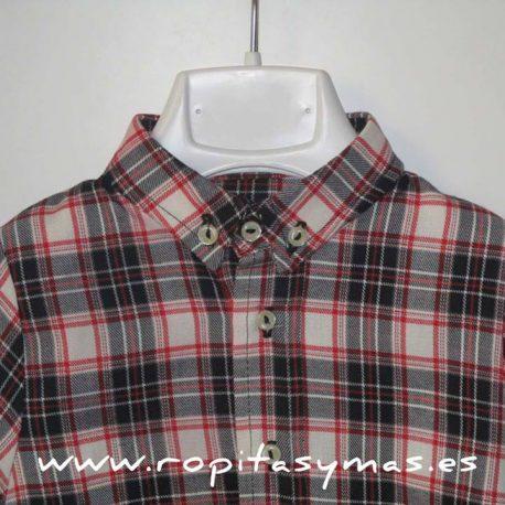 camisa bebeescocesa mia y liadetalle147