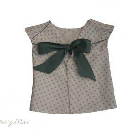 Camisa  espalda estrellas de ancar, verano 2016