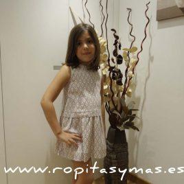 Vestido-falda  geometrica de ANCAR, verano 2016