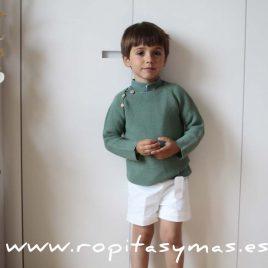 jersey verde niño de Eve Children, verano 2016