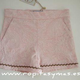 Pantalon rosa labrado de MARIQUILLA, verano 2016