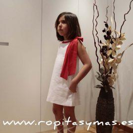 Vestido lazo rojo de ANCAR, verano 2016