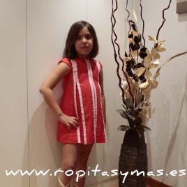 Vestido rojo jaretas de Ancar, verano 2016