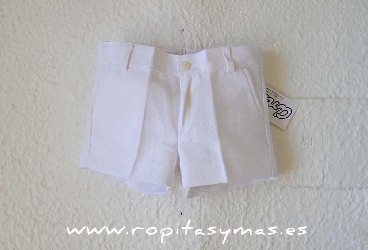 Pantalón corto blanco de ANCAR