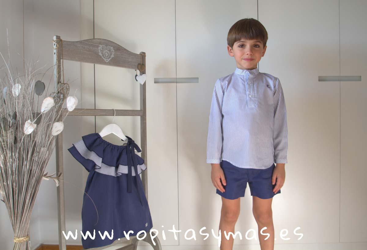 Conjunto niño pantalón azul oscuro palermo de EVE CHILDREN