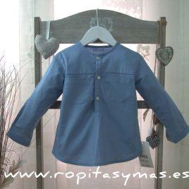 Camisa azul de  ANCAR, verano 2017