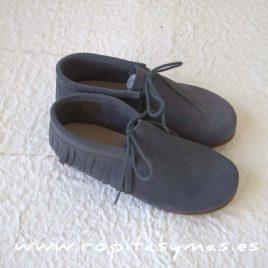 Zapatos GRISES FLECOS MIA Y LIA, verano 2017