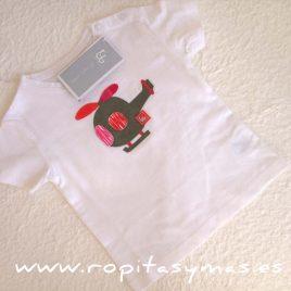 Camiseta niño CUADROS ROJOS de AL AGUA PATOS, verano 2017