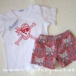 Camiseta  calavera roja  de ANCAR, Verano 2017