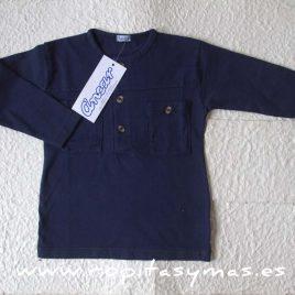 Camiseta polera marino mao bolsillos de  ANCAR, verano 2017
