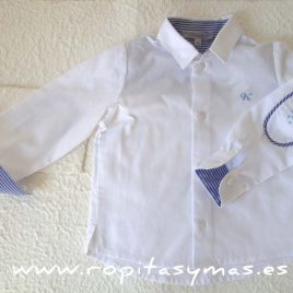 Camisa blanca  crucero de Kauli, verano 2017