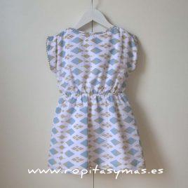 Vestido geométrico picunela de Ancar, verano 2014