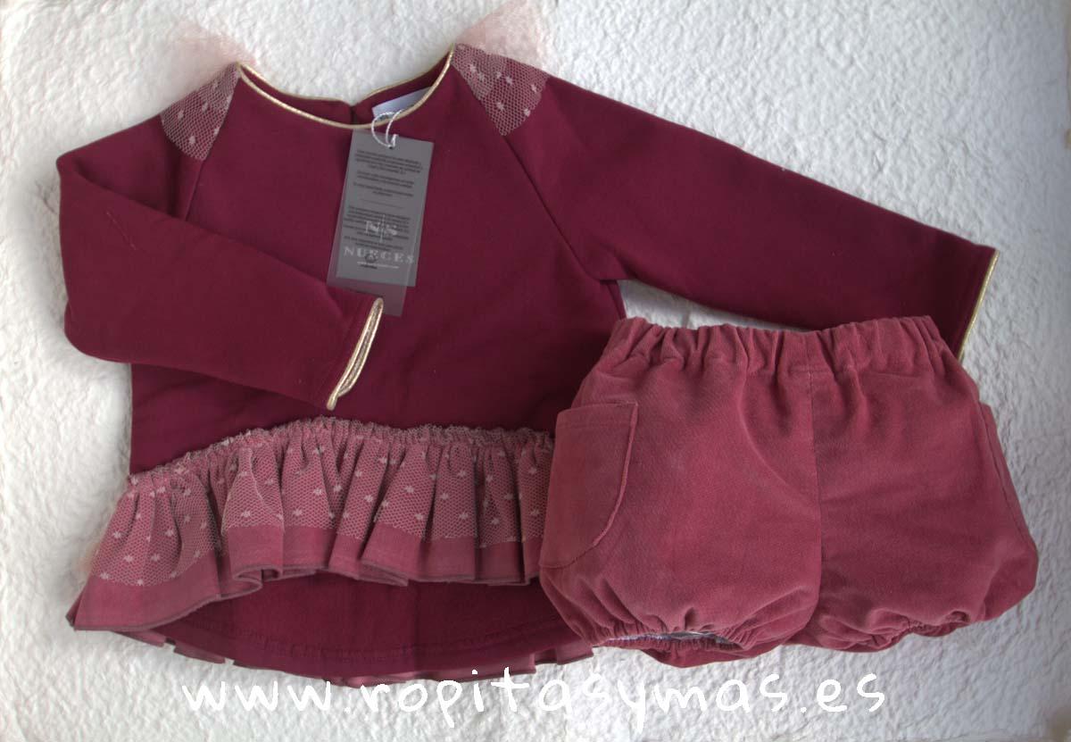 Blusón MÉRIDA rosa de NUECESKIDS