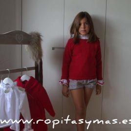 Conjunto niña GISELLE de EVA CASTRO, invierno 2017