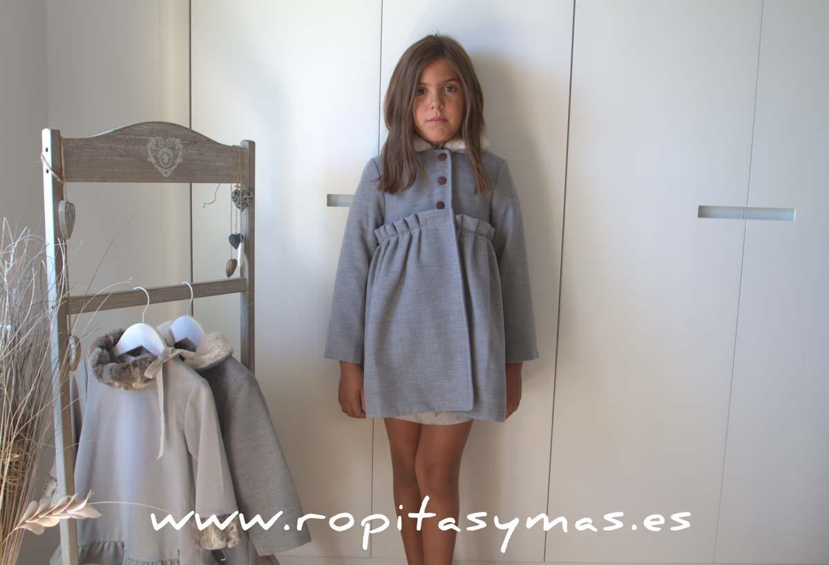 Abrigo gris mia y lia