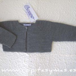 Chaqueta botón gris marengo Ancar, invierno 2017