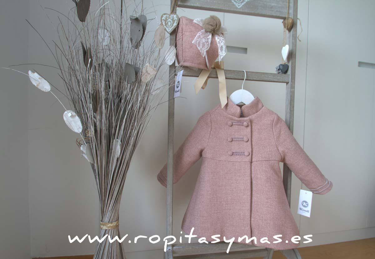 Abrigo rosa espiga de KAULI