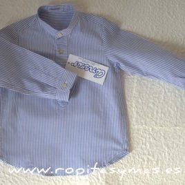 Camisa rayas azules de Ancar, invierno 2017