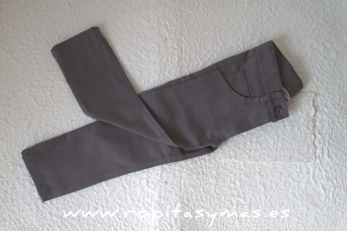 Pantalón pitillo gris niño de ANCAR