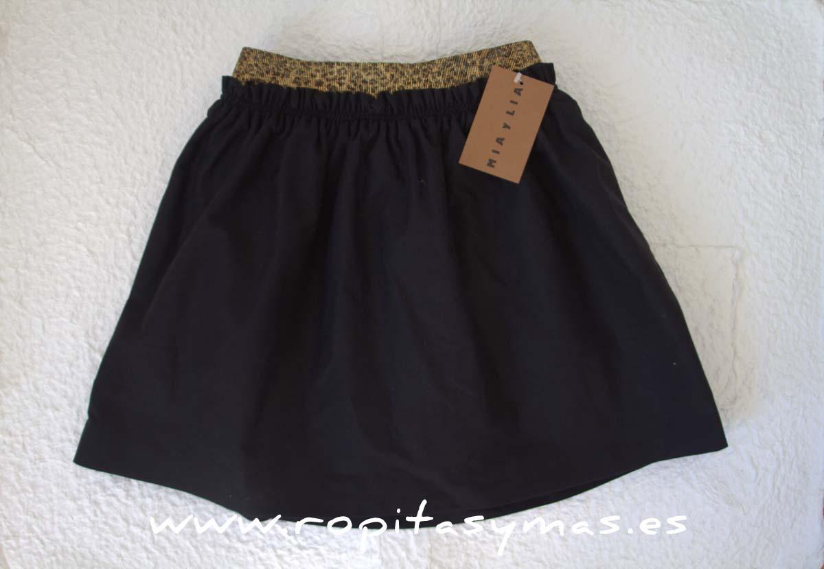Falda negra de MIA Y LIA 1b5f1cffd8fc0