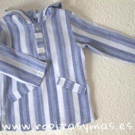 Camisa capucha marinera de Ancar, verano 2018