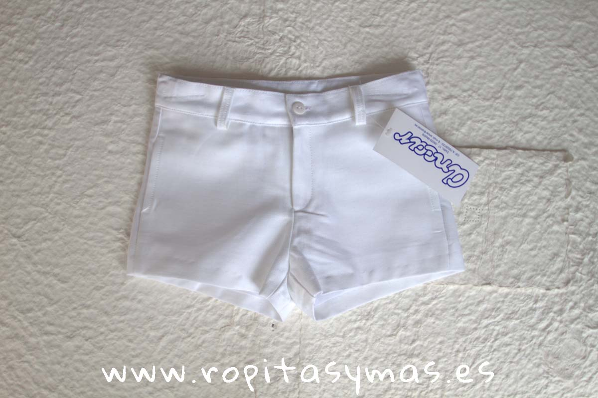 Pantalón muy corto blanco de ANCAR