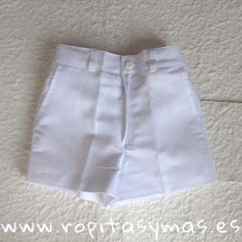 Pantalón corto blanco de  ANCAR, verano 2019