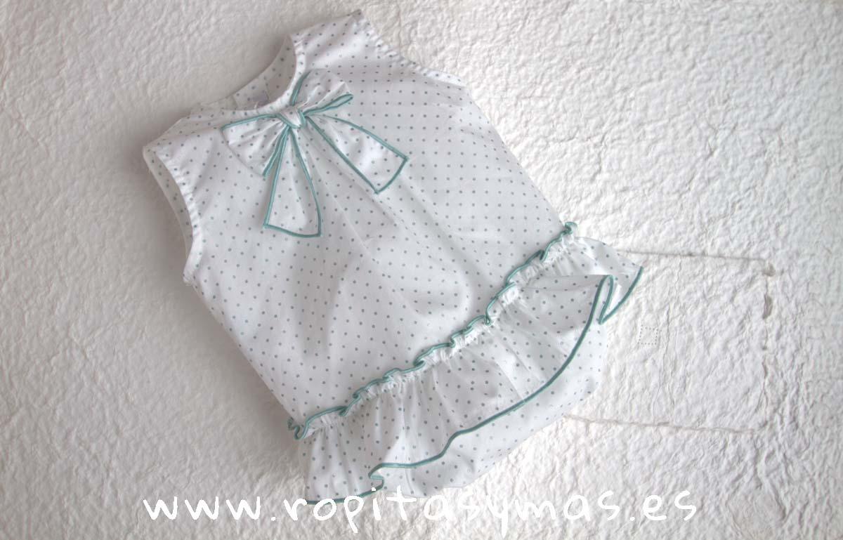 Pelele topos verde grisáceos SMOKE de EVE CHILDREN