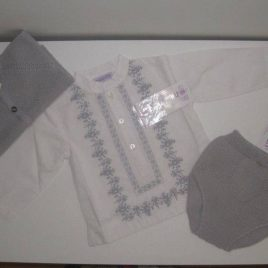 Camisa mexicana gris de Ancar, verano 2014