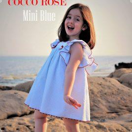 Vestido MINI BLUE de COCCO ROSE, verano 2018