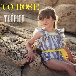Mono volantes TRÓPICO de  COCCO ROSSE, verano 2018