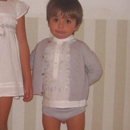 Conjunto gris bebe  de Ancar, verano 2014