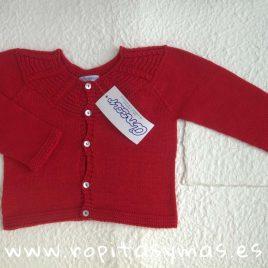 chaqueta collar rojo de Ancar, verano 2015