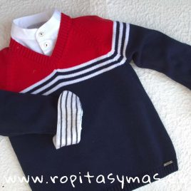 Jersey marinero niño NAUTICAL de KAULI, verano 2018