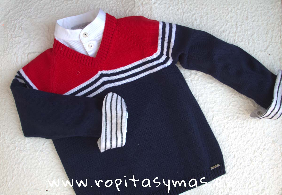 Jersey marinero niño NAUTICAL de KAULI