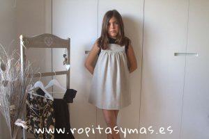 Vestido entramado cuerda de MIA Y LIA