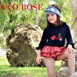 Conjunto niña RED CITY de COCCO ROSE, verano 2018
