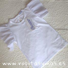 Camiseta blanca mangas de ANCAR, Verano 2018