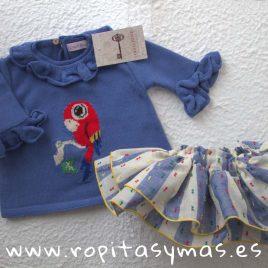 Conjunto TRÓPICO azulón de COCCO ROSE, verano 2018
