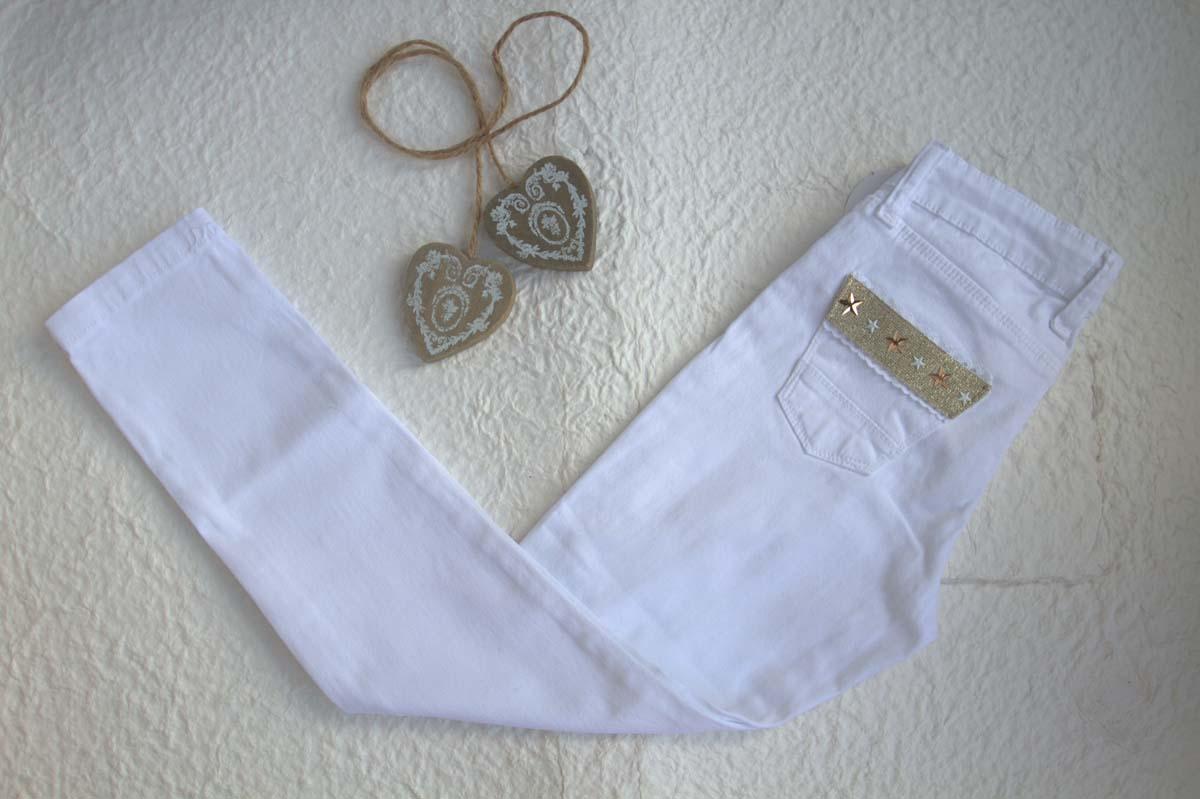 Pantalón blanco YOUNG & CHIC de KAULI