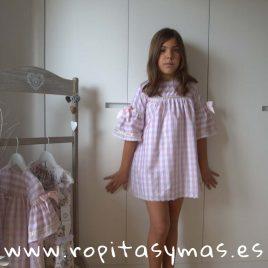 Vestido DENIM ROSA de KAULI, verano 2018