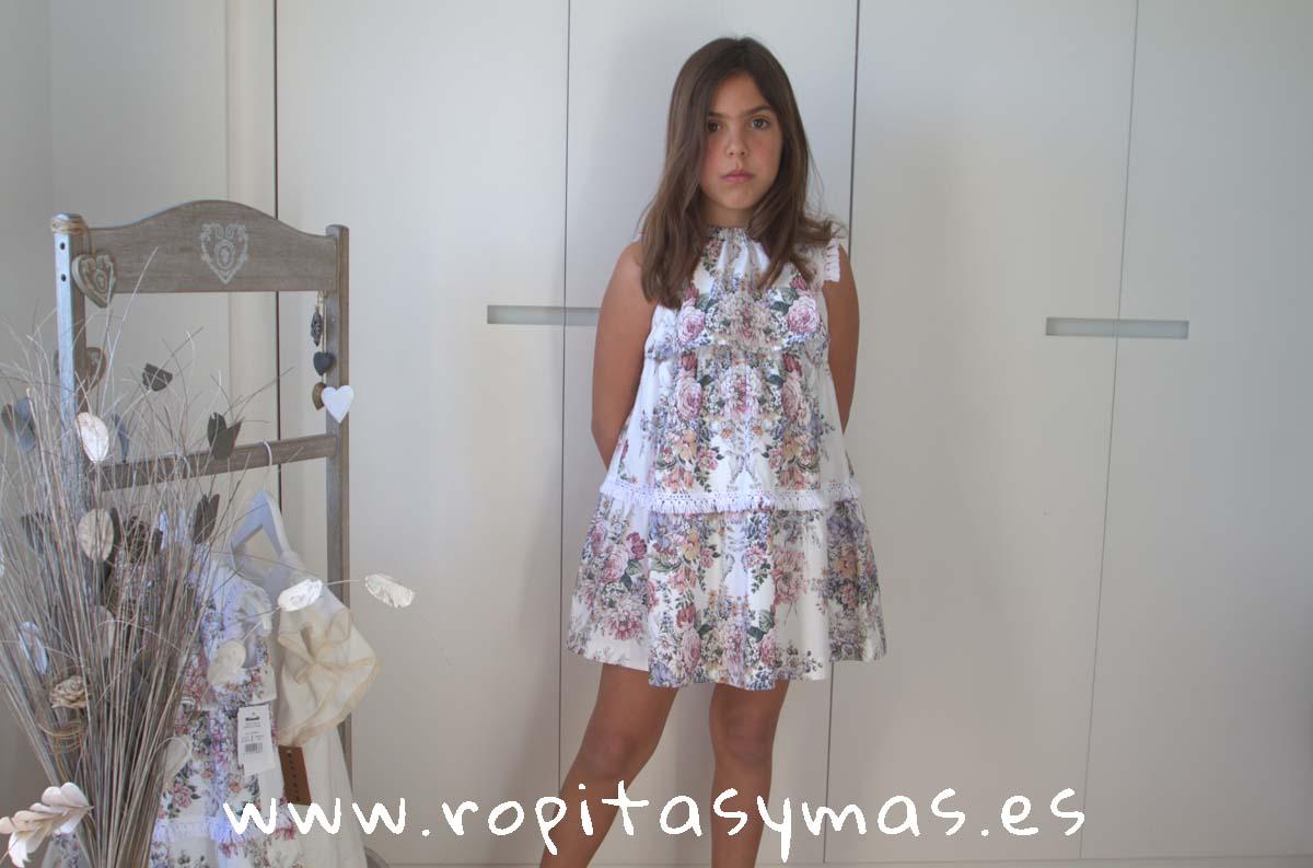 Vestido floral TRENDY de KAULI