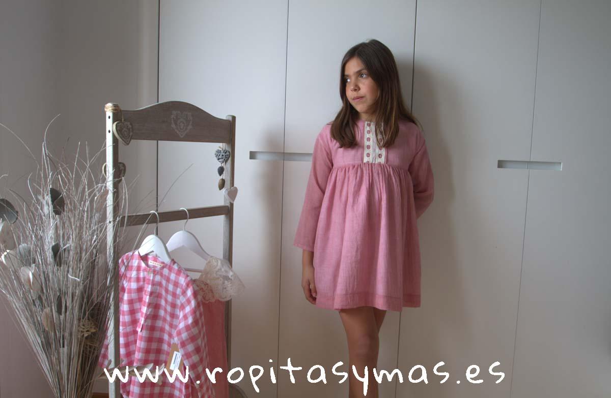 Vestido ROSA de MIA Y LIA