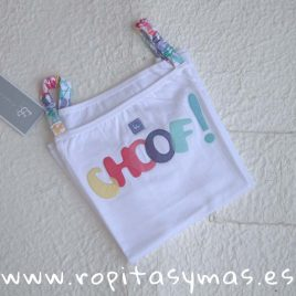 Camiseta niña CHOF de AL AGUA PATOS, verano 2018