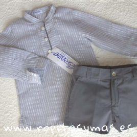 Pantalón corto gris de  ANCAR, verano 2018