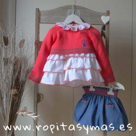 Conjunto falda niña CELINE de EVA CASTRO, verano 2018